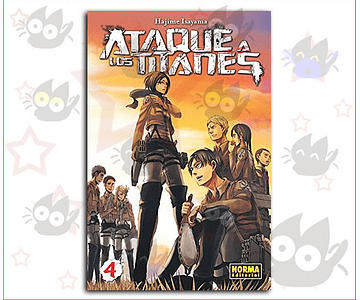 Ataque a los Titanes Vol. 4 - Norma