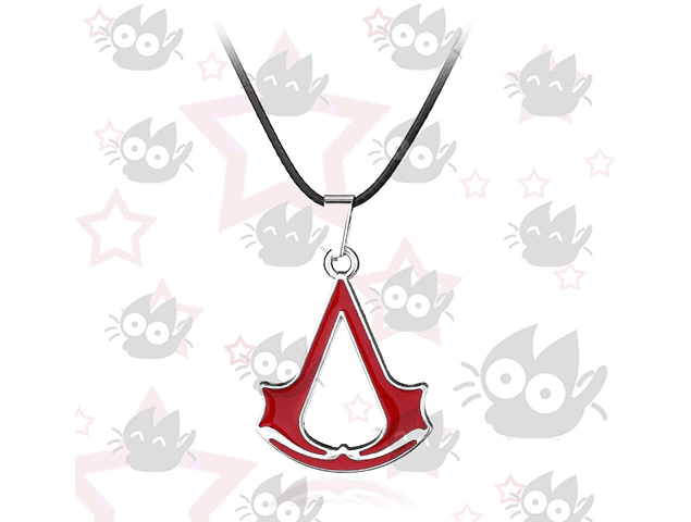 Assassin's Creed - Collar símbolo rojo