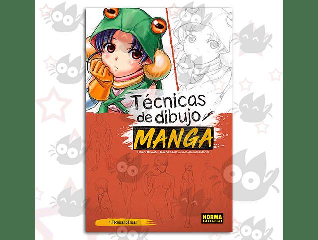 Técnicas de Dibujo de Manga Vol.1 - 1 Técnicas Básicas