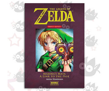 The Legend of Zelda: Perfect Edition Vol. 2: Majora's Mask a Link to the Past