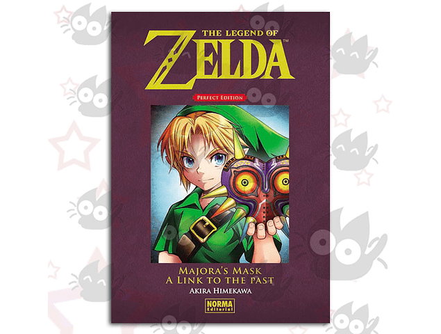 The Legend of Zelda - Perfect Edition Vol. 2: Majora's Mask a Link to the Past