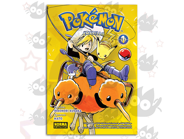 Pokemon Vol. 3: Amarillo # 1