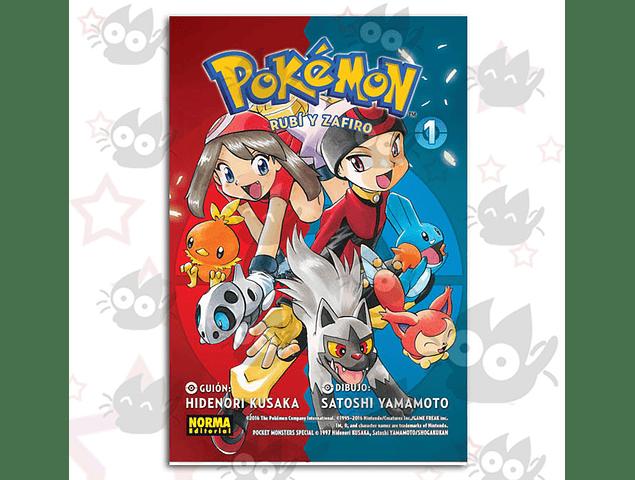 Pokemon Vol. 9: Rubí y Zafiro # 1