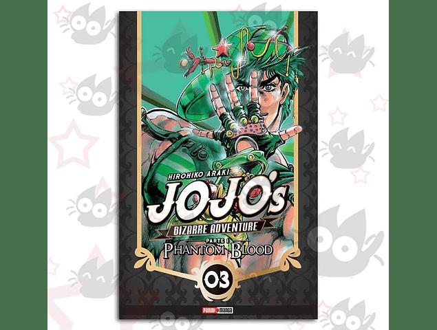 Jojo's Bizarre Adventure 3 - Parte 1 : Phantom Blood Vol. 3