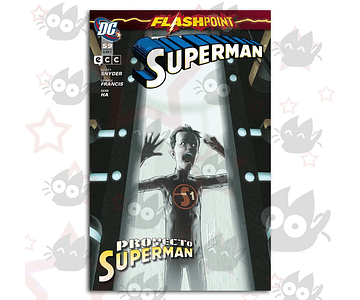 Superman #59 - Flashpoint: Proyecto Superman