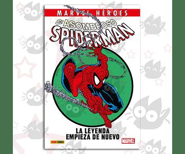 Marvel Héroes, El Asombroso Spiderman: La Leyenda Empieza de Nuevo