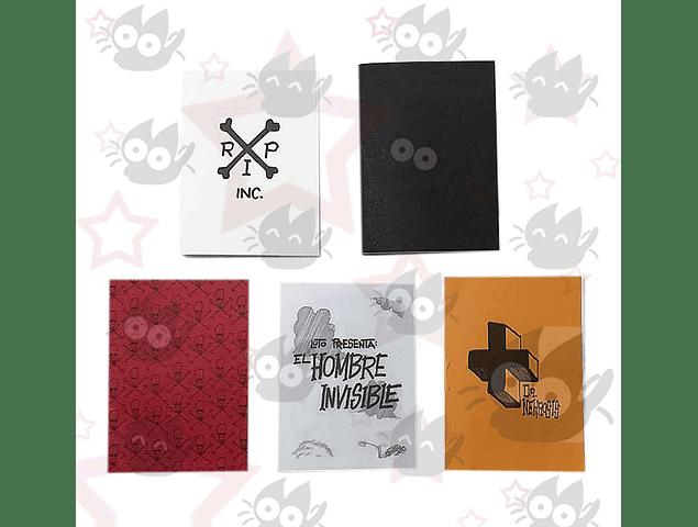 Minoritas - Set x 5 Minifanzines