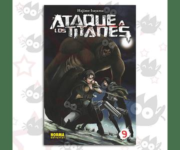 Ataque a los Titanes Vol. 9 - Norma