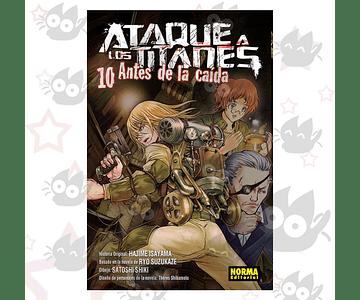 Ataque a los Titanes: Antes de la Caida Vol. 10 - Norma