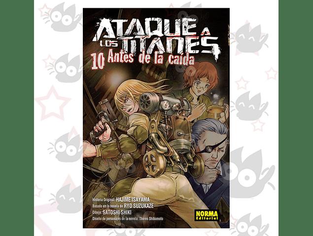 Ataque a los Titanes: Antes de la Caida Vol. 10