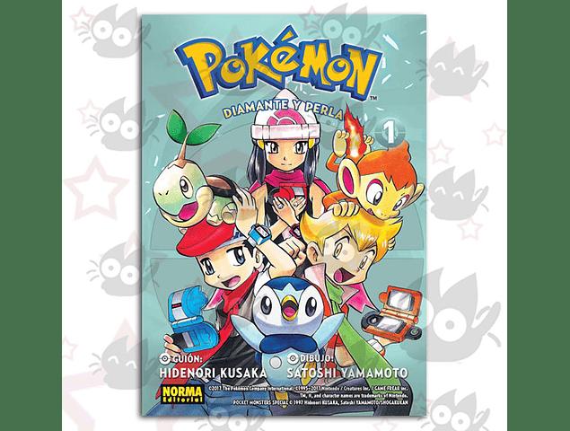 Pokémon Vol 17: Diamante y Perla #1