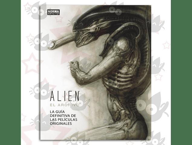 Alien: El Archivo, La Guía definitiva de las películas originales.