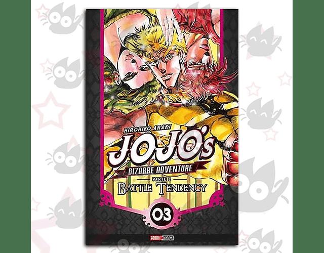 Jojo's Bizarre Adventure 6 - Parte 2 : Battle Tendency Vol. 3