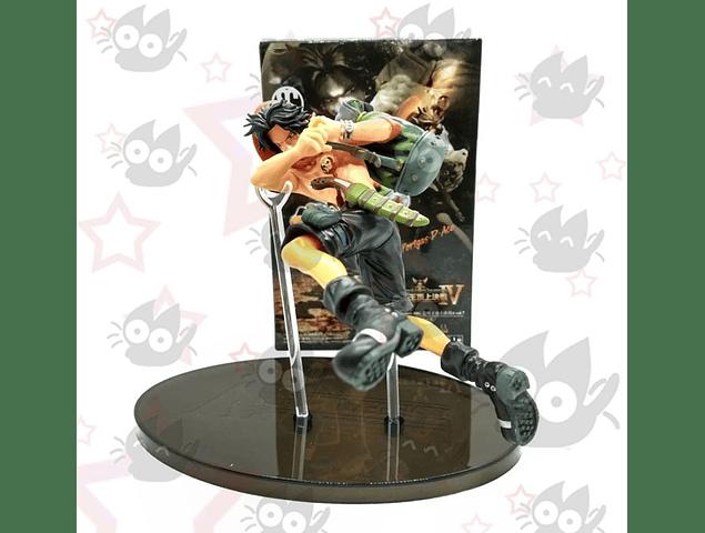 One Piece - Portgas D. Ace figura saltando