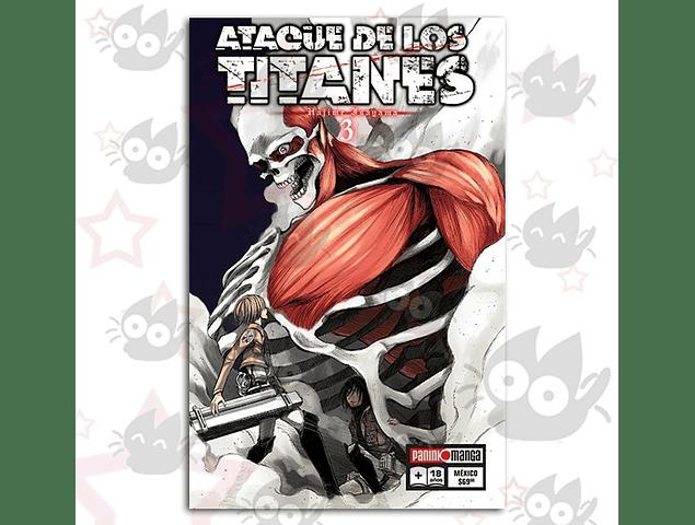 Ataque de los Titanes Vol. 3