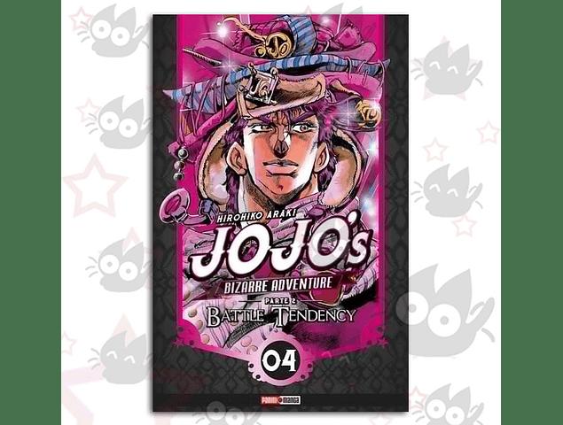 Jojo's Bizarre Adventure 7 - Parte 2 : Battle Tendency Vol. 4