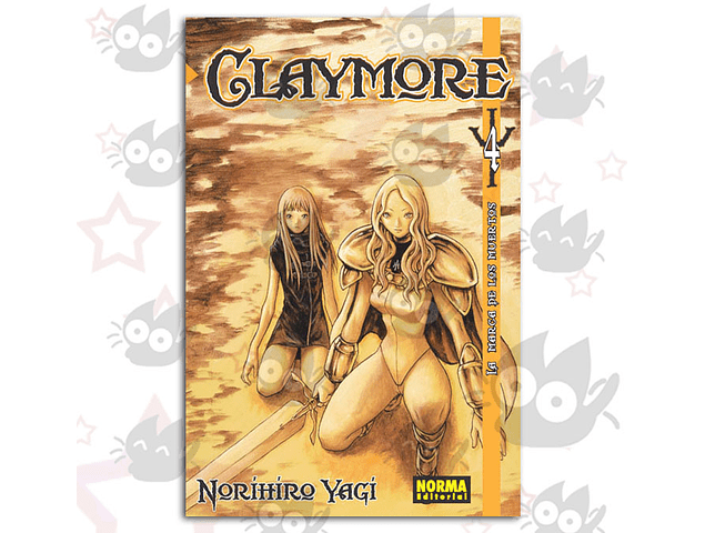 Claymore Vol. 4