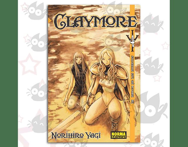 Claymore Vol. 4