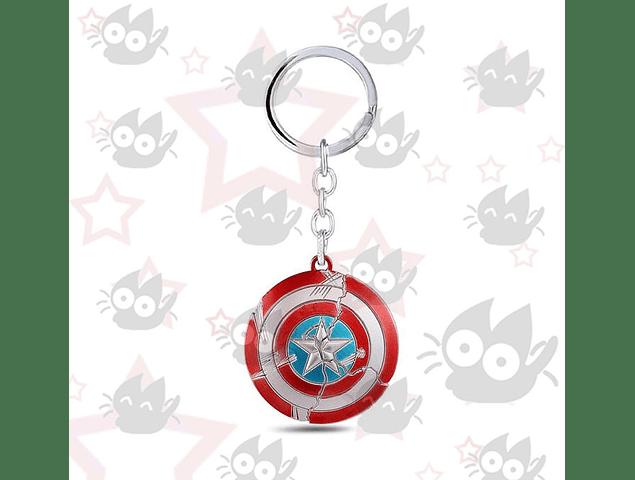Capitan America - Escudo Circular Roto