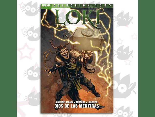 100% Marvel. Loki: Dios de las Mentiras