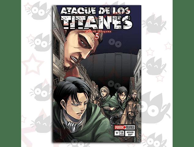 Ataque de los Titanes Vol. 5