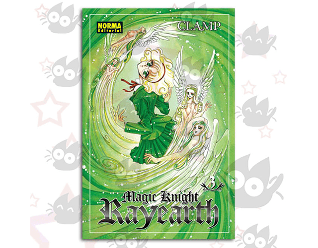 Magic Knight Rayearth Vol. 3