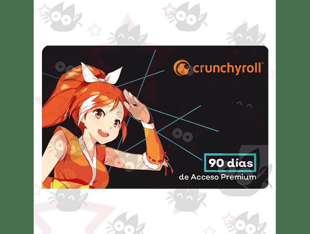 Membresía Crunchyroll - 90 días