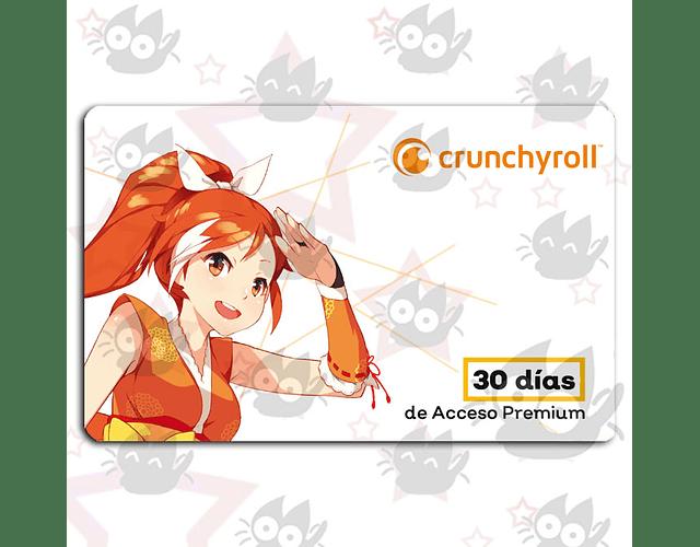 Membresía Crunchyroll - 30 días
