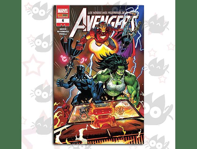 Avengers - Los Héroes mas Poderosos de la Tierra #4