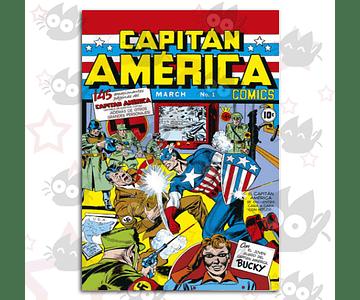 Capitan America Comics # 01 Facsímil 13