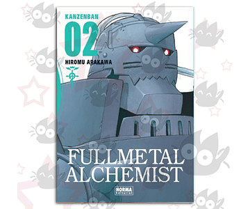 Fullmetal Alchemist Kanzenban Vol. 2