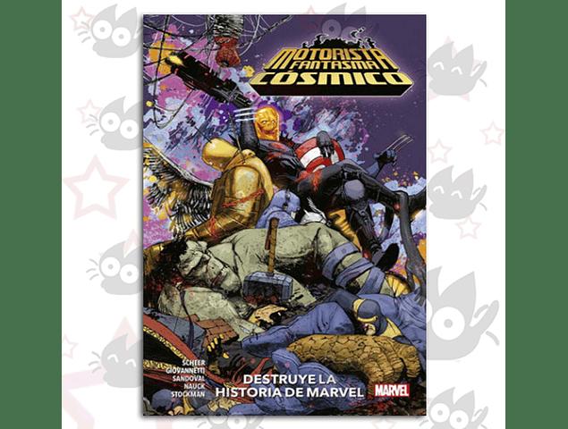 Motorista Fantasma Cosmico - Destruye La Historia De Marvel