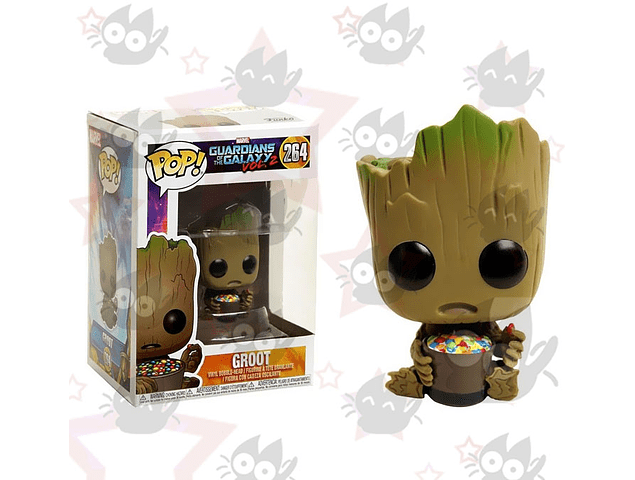 Funko Pop: Guardians of the Galaxy - Groot