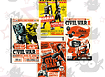 Civil War II - #1 a #4 (Portadas Alternativas)
