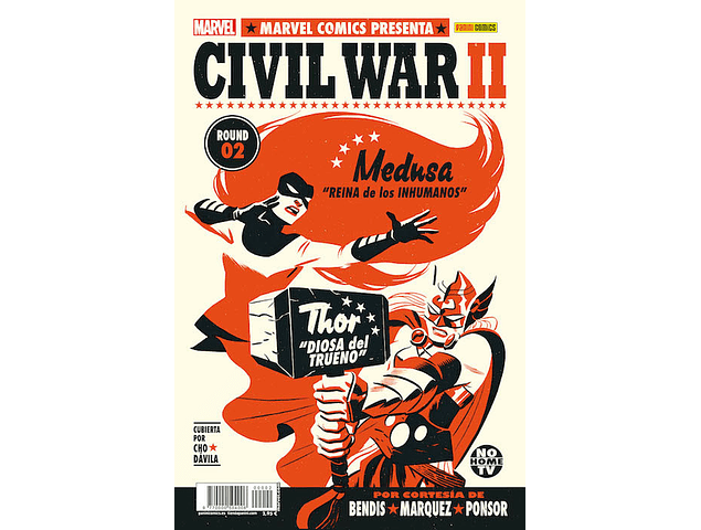 Civil War II - #1 a #4 (Portadas Alternativas)