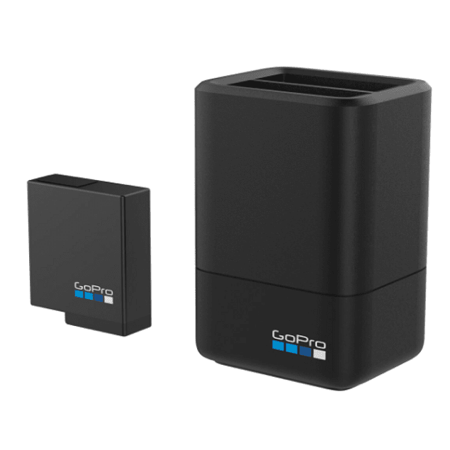 GOPRO Dual Battery Charger + Battery (HERO 5, 6 y 7 Black)
