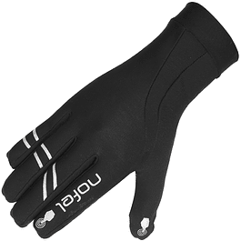 Guantes Running Flash Glove Black Nofel