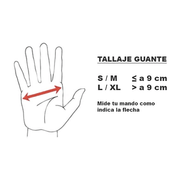 Guantes Basic Glove Black Nofel