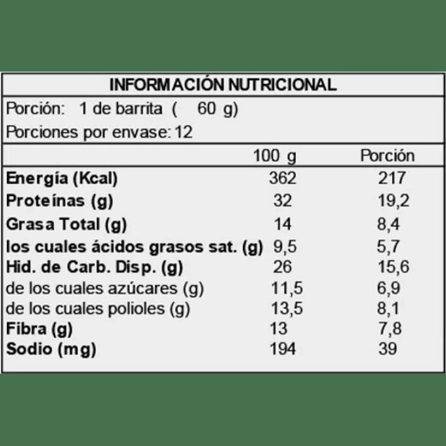 Barra Proteina Deluxe Orange Coconut Cake