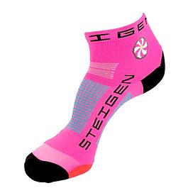 Calcetines Deportivos Steigen Corto Fluor Pink