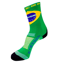 Calcetines Deportivos Steigen Largo Brazil