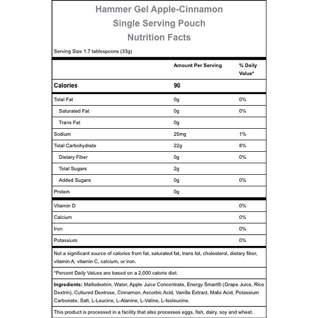 Gel Hammer Apple Cinamon