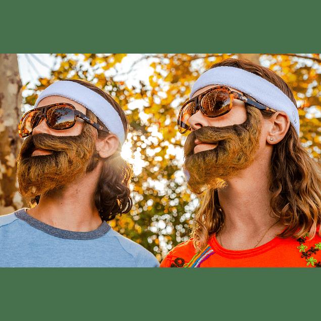 Anteojos de Sol Goodr Shaves Legs, Grows Beard