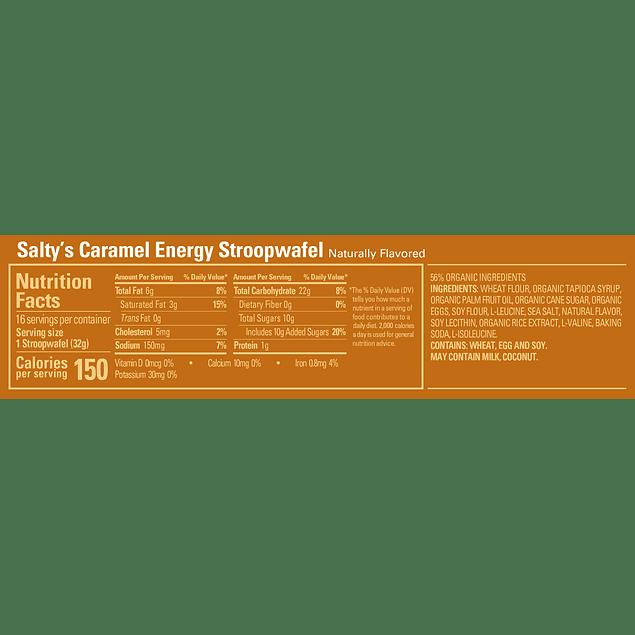 Waffle GU Salty's Caramel