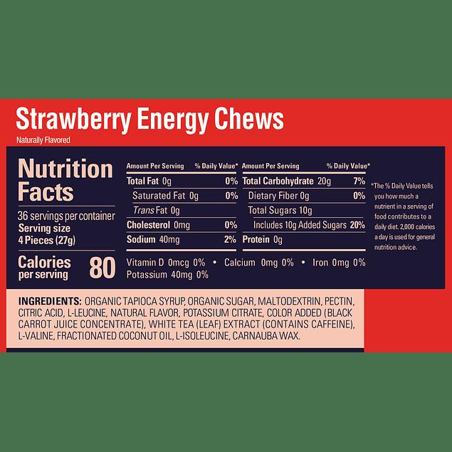 Gomitas GU Strawberry Chews