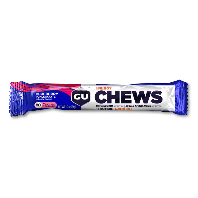 Gomitas GU Blueberry Pomegranate Chews