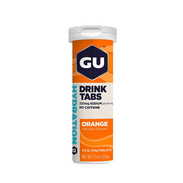 Tabletas Hidratación GU Orange