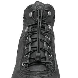 Cordón Elasticado Lock Laces Boot Negro