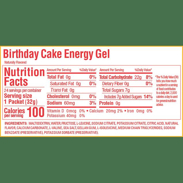 Gel GU Birthday Cake