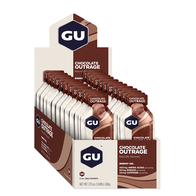 Gel GU Chocolate Outrage